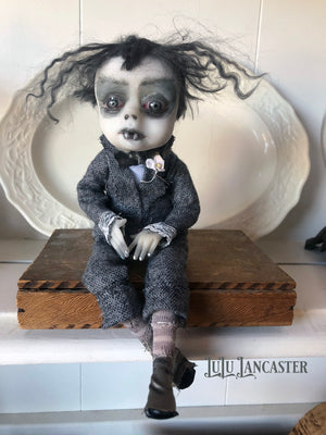 Herbert the Vampire OOAK Art Doll LuLu Lancaster