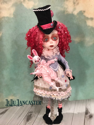 Hester Pouty Party Girl OOAK LuLu Lancaster Art Doll