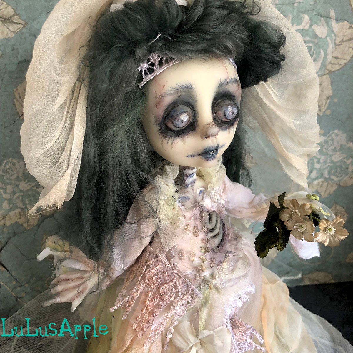 Hope the corpse Bride Victorian Halloween OOAK Art Doll LuLusApple