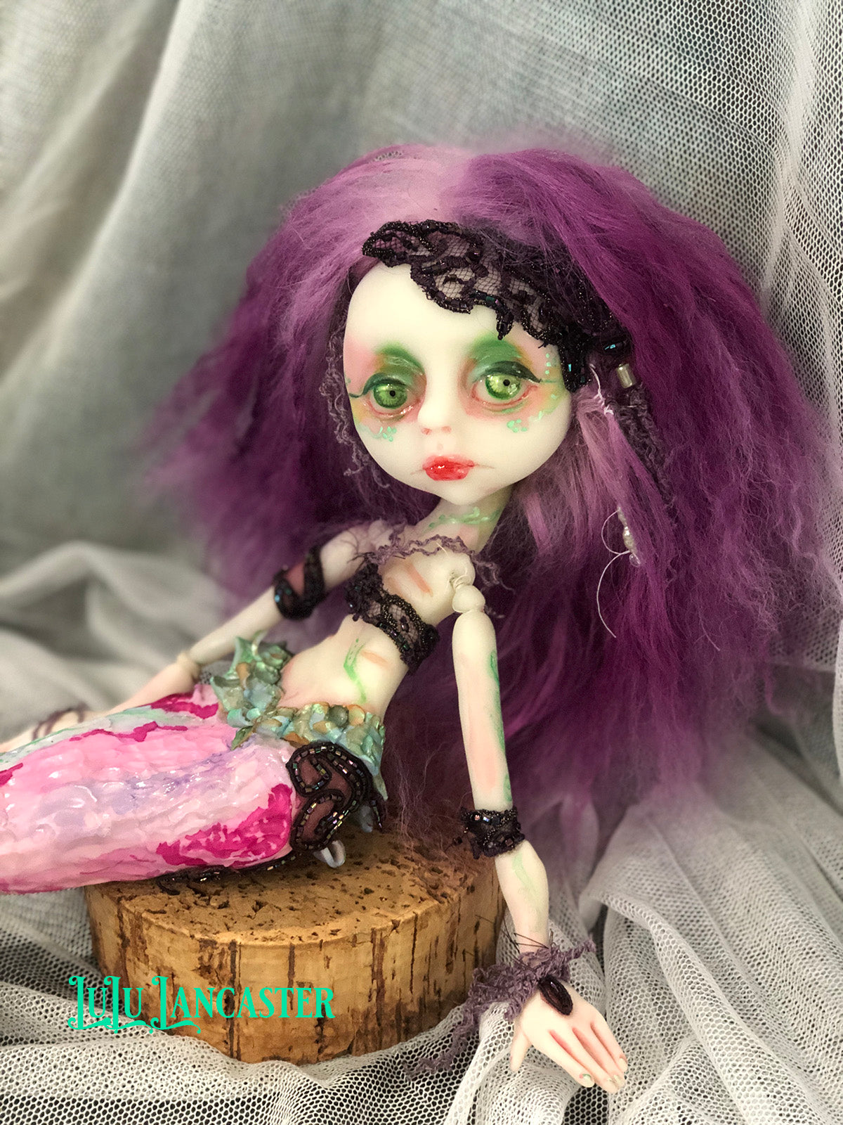Kailyna the Mermaid OOAK Art Doll LuLu Lancaster