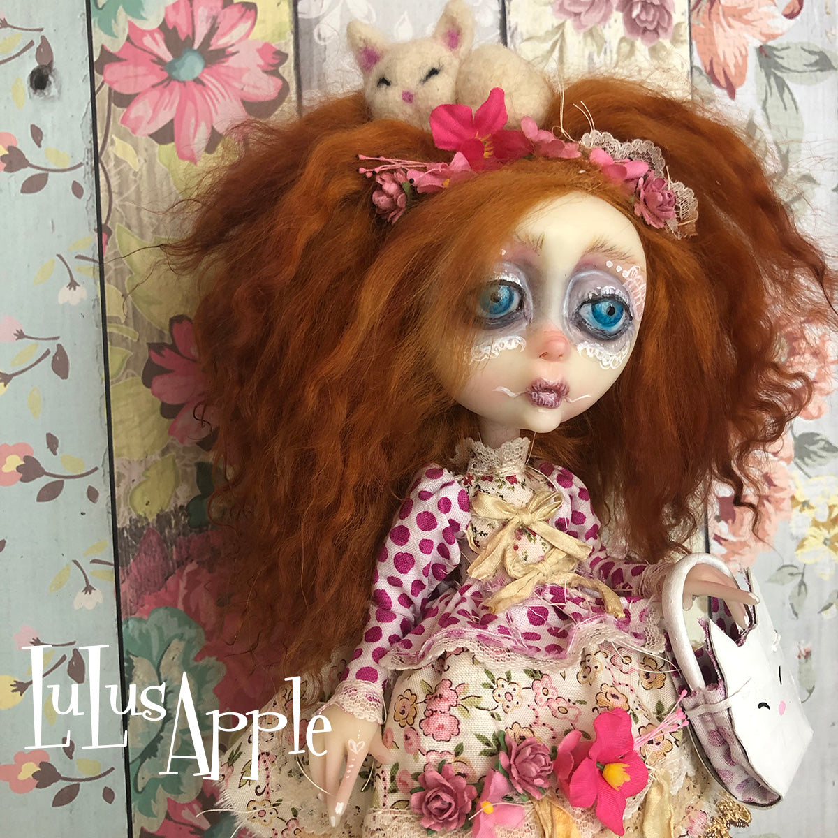 Lacey Broken Heart LuLusApple Art Doll