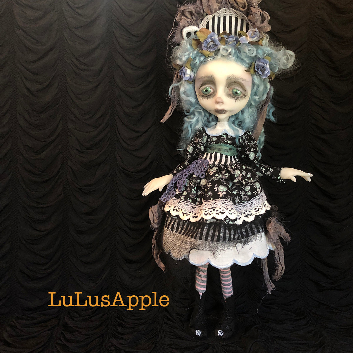 Linny Funeral Girl OOAK Art Doll LuLusApple