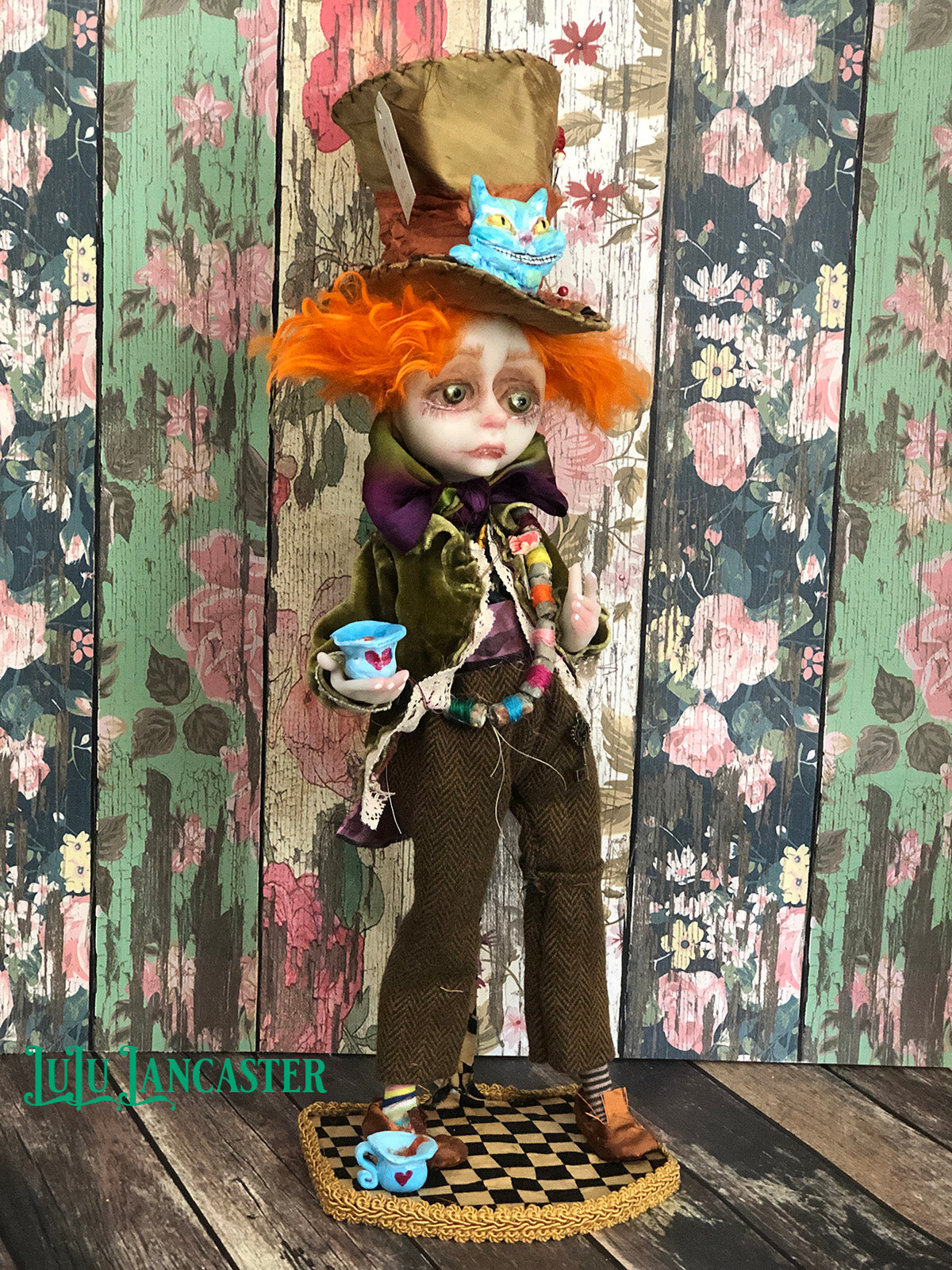 Little Hatter Wonderland OOAK Art Doll LuLu Lancaster