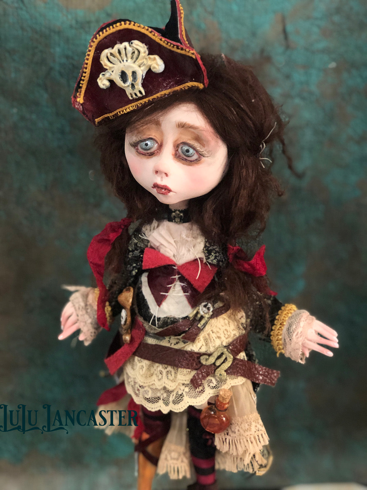 Lottie Lostleg the Pirate OOAK LuLu Lancaster Art Doll