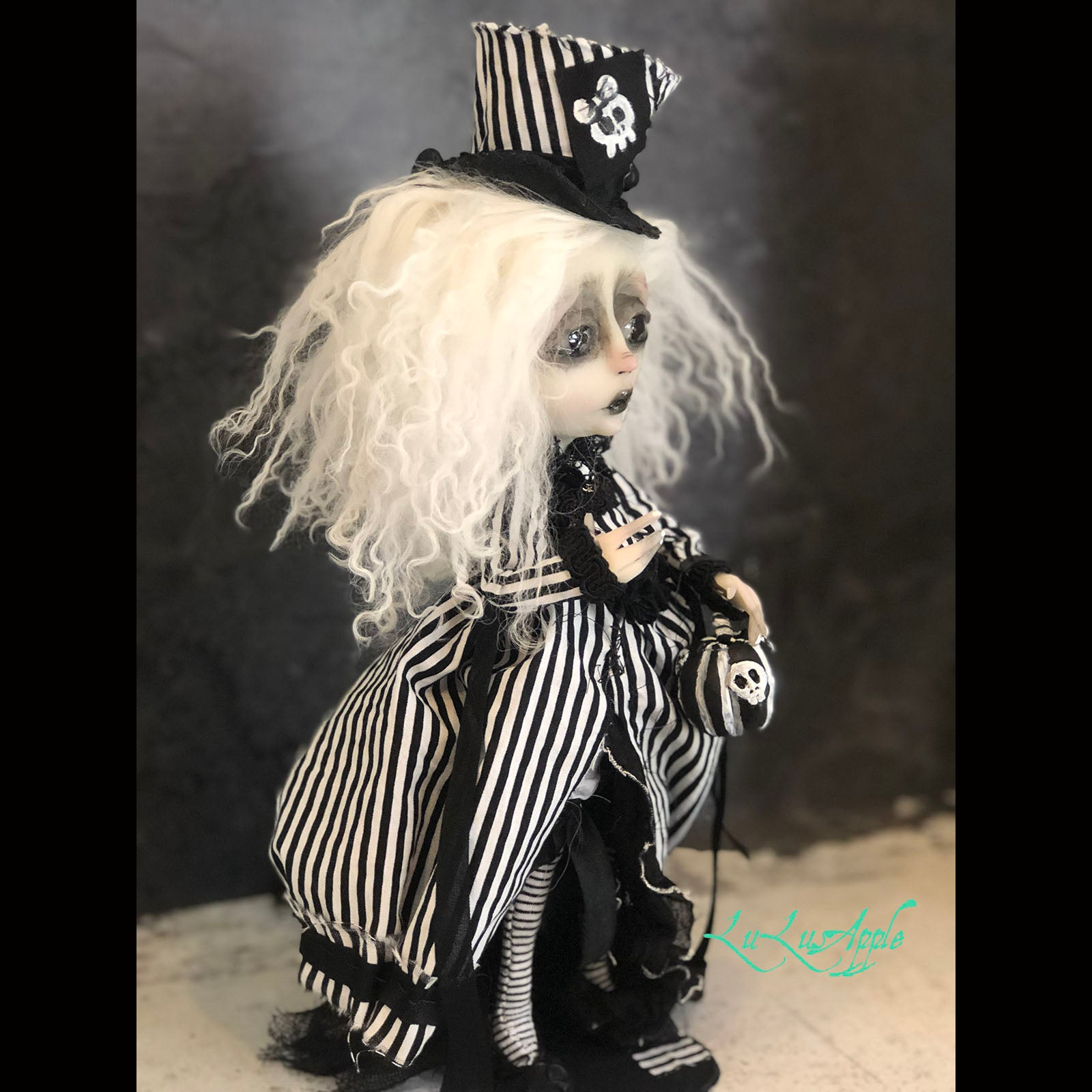 Lowell Moonstone Victorian Gothic OOAK LuLusApple Art Doll