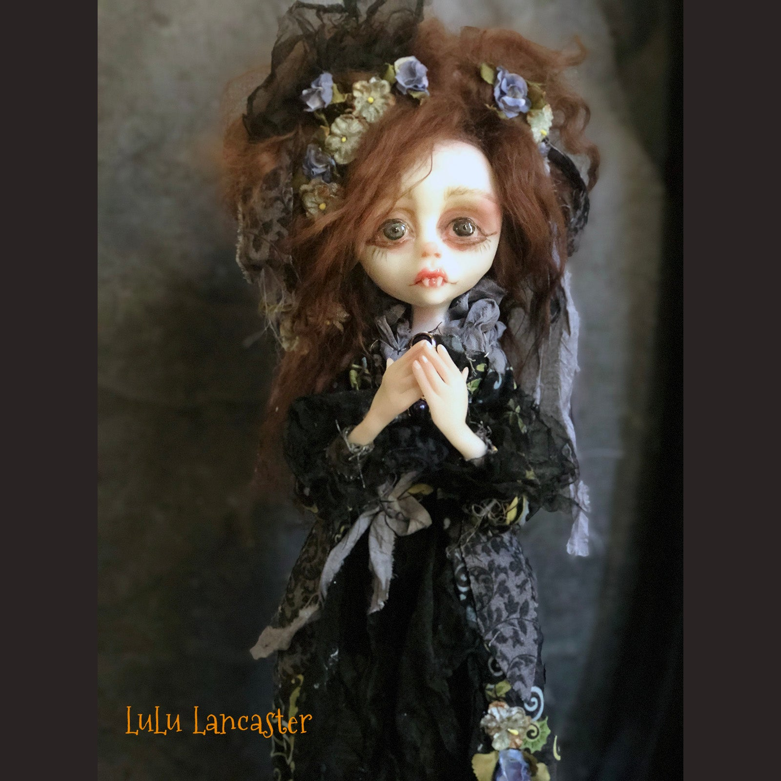 Marnie the Vampire OOAK Art Doll LuLu Lancaster