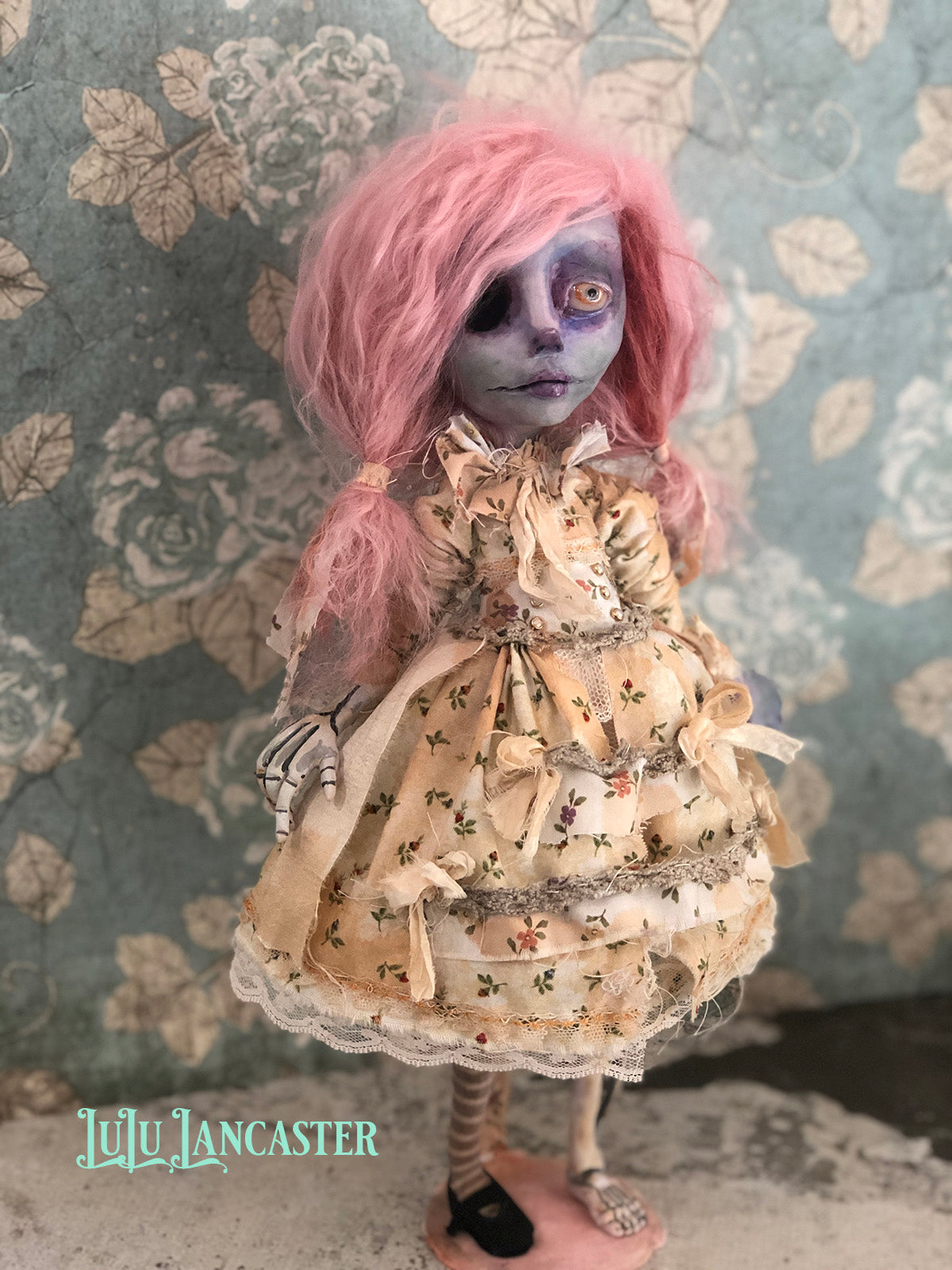 Matilda the Corpse OOAK Art Doll LuLu Lancaster