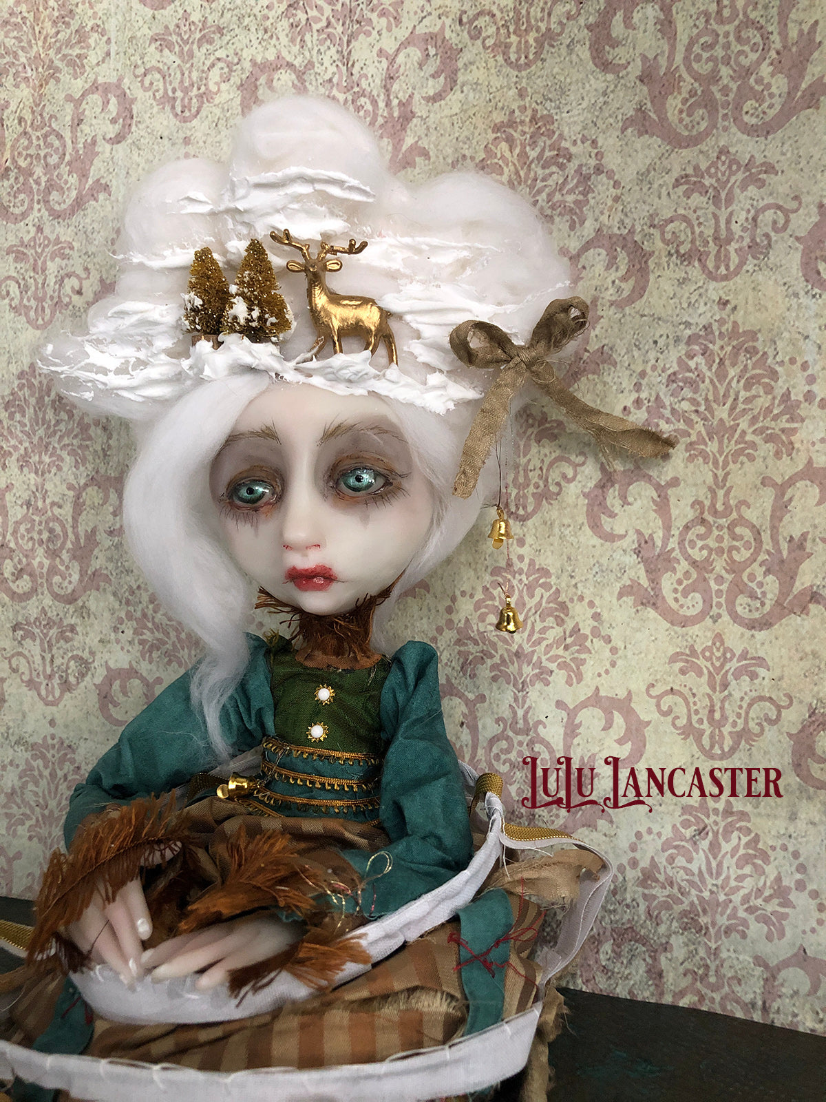 Maxie Rococo Winter Original LuLu Lancaster Art Doll