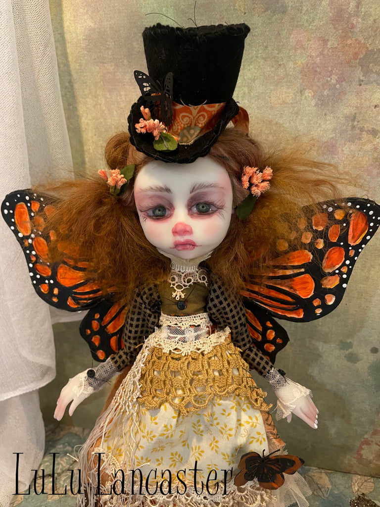 Mayella the Monarch Original LuLu Lancaster Art Doll
