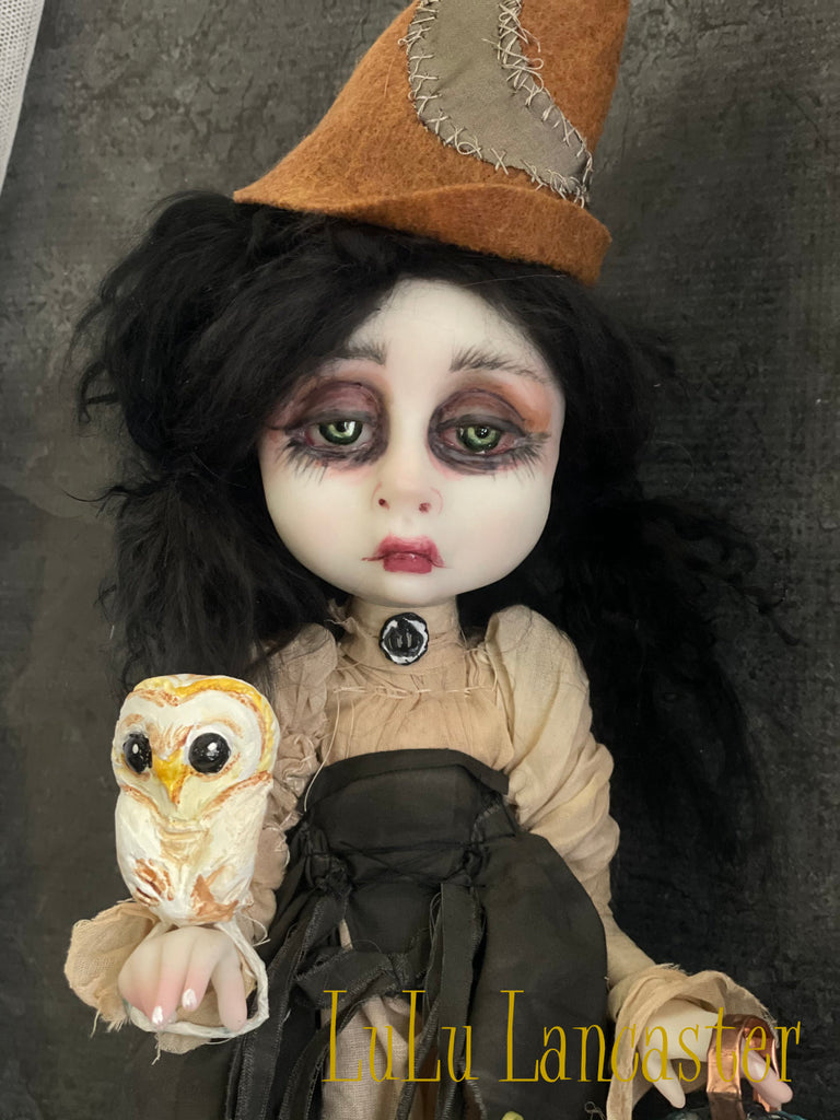 Meesah the order of the Moon Witch OOAK Art Doll LuLu Lancaster