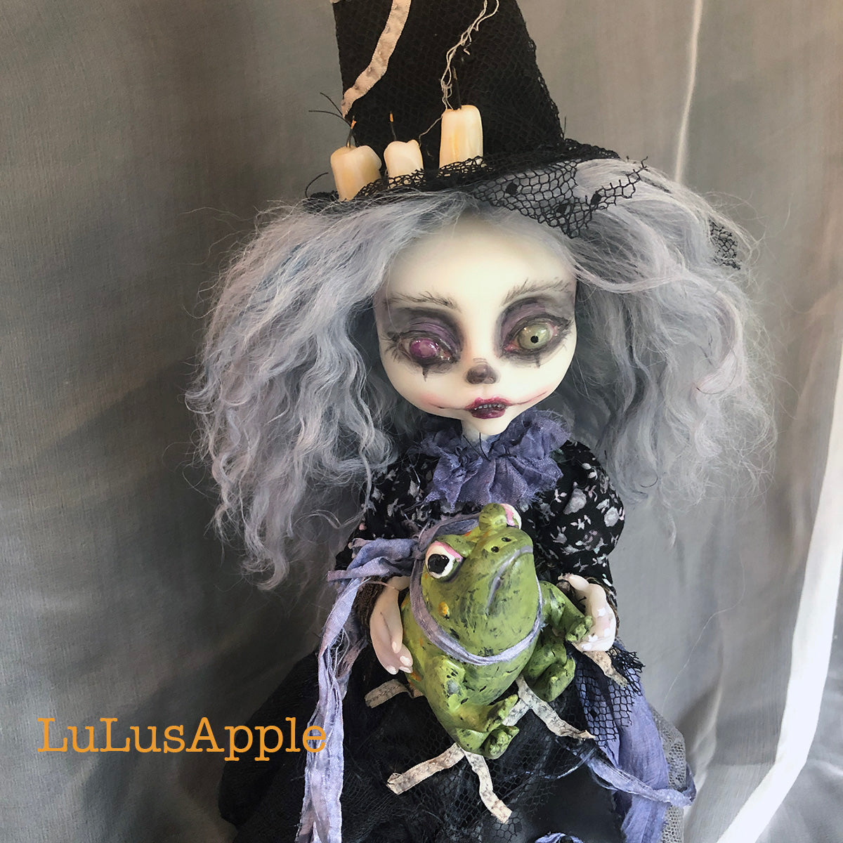 Opal Wind the Witch Order of the Odd Eye OOAK Art Doll LuLusApple