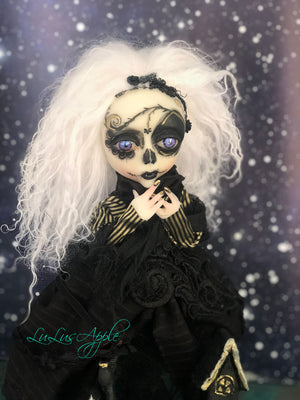 Pavor Dia de los muertos spirit of the night OOAK Art Doll LuLusApple
