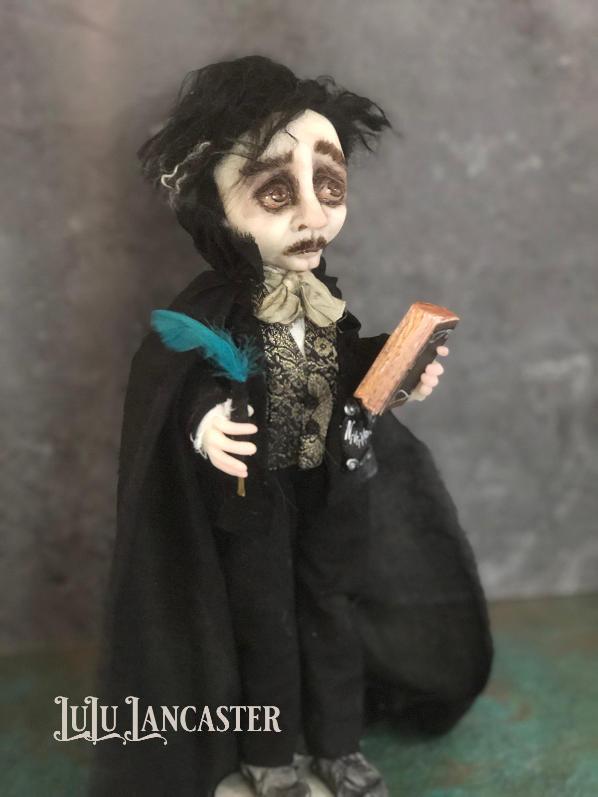 Poe Original Art Doll by LuLu Lancaster