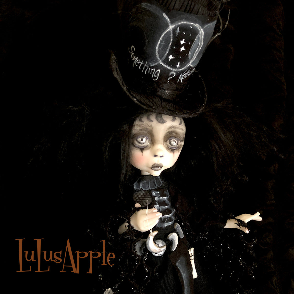 Sanna Voodoo Moon Witch OOAK Art Doll LuLusApple