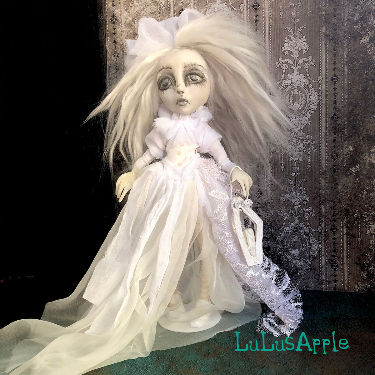Selah Purgatory Ghostly Spirit Gothic Victorian LuLusApple Art Doll