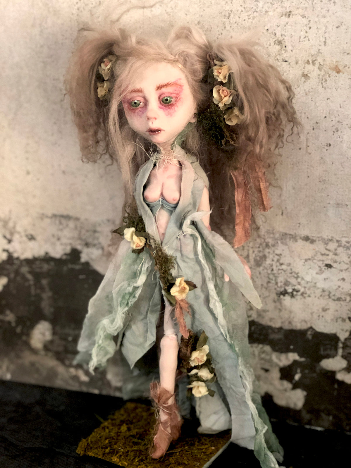 Serif the Forest Witch Art Doll OOAK LuLu Lancaster