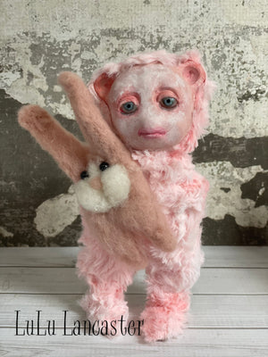 Baby Abominable Sue OOAK Art Doll LuLu Lancaster