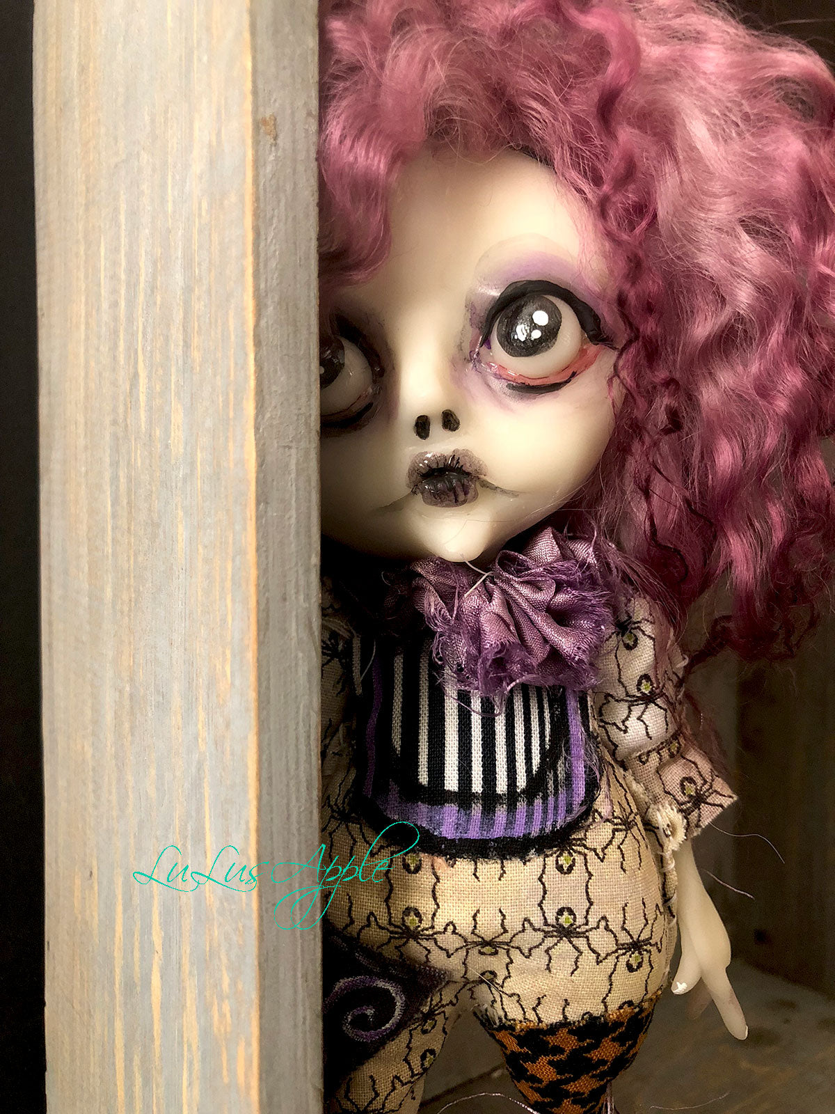 Teryn Ghoulia Mini OOAK LuLusApple Art Doll