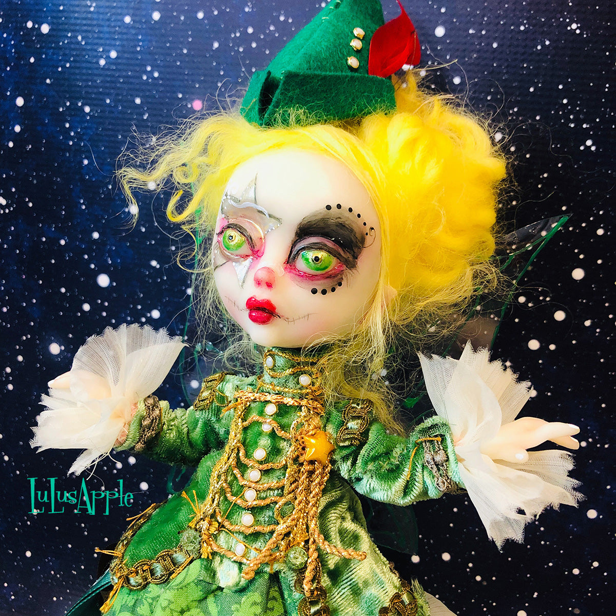 Tink NeverLand Military Mashup OOAK LuLusApple Art Doll