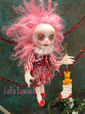 Tippin Mini Elf Christmas ornament Original LuLu Lancaster