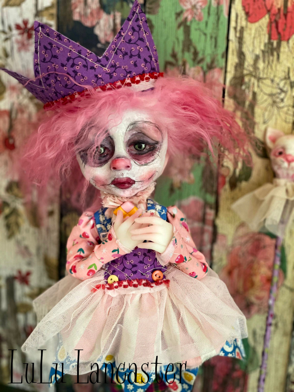 Tootsie PoP Roll the Clown Original Art Dolls by LuLu Lancaster