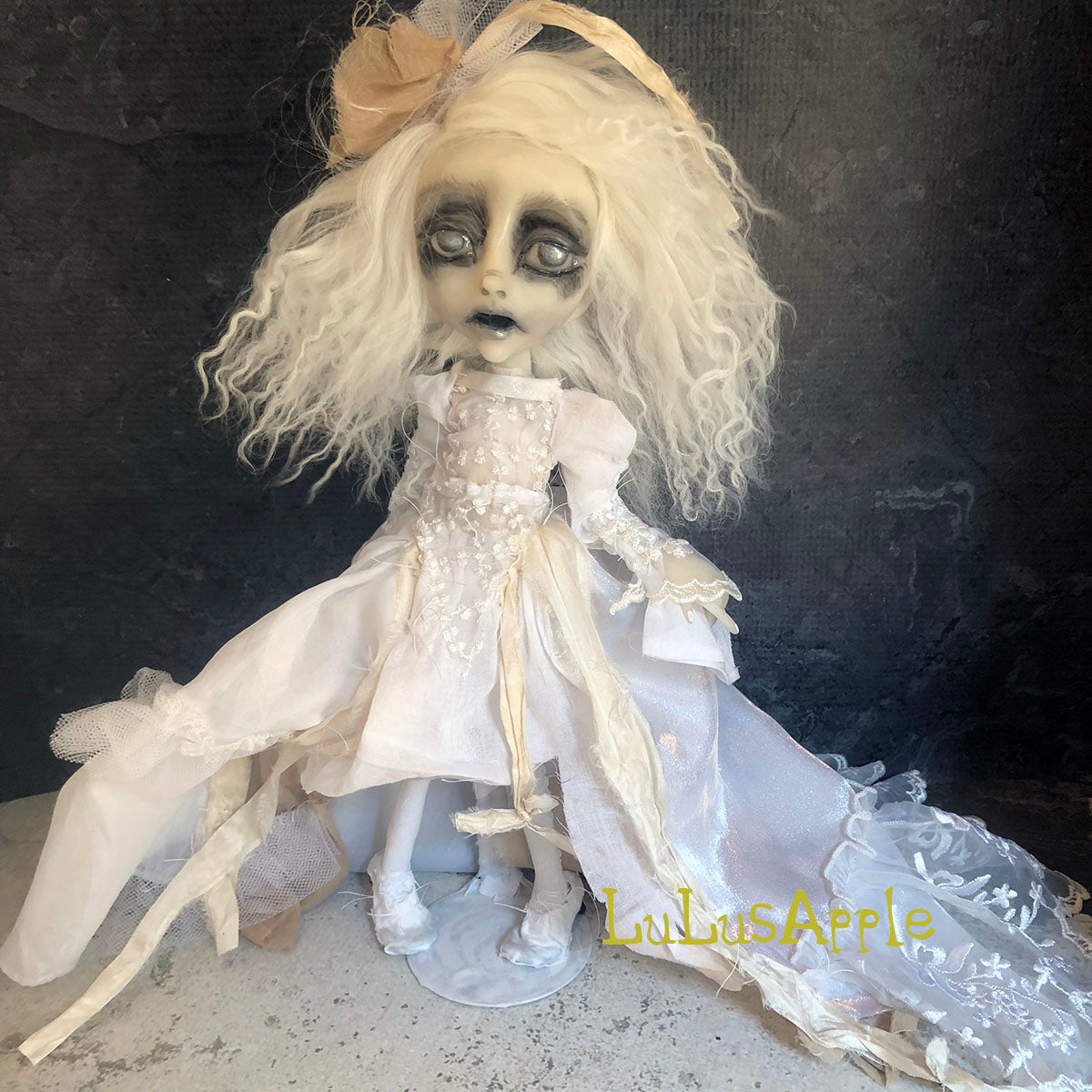 Triste full of sorrows the poltergeist Gothic Victorian LuLusApple Art Doll
