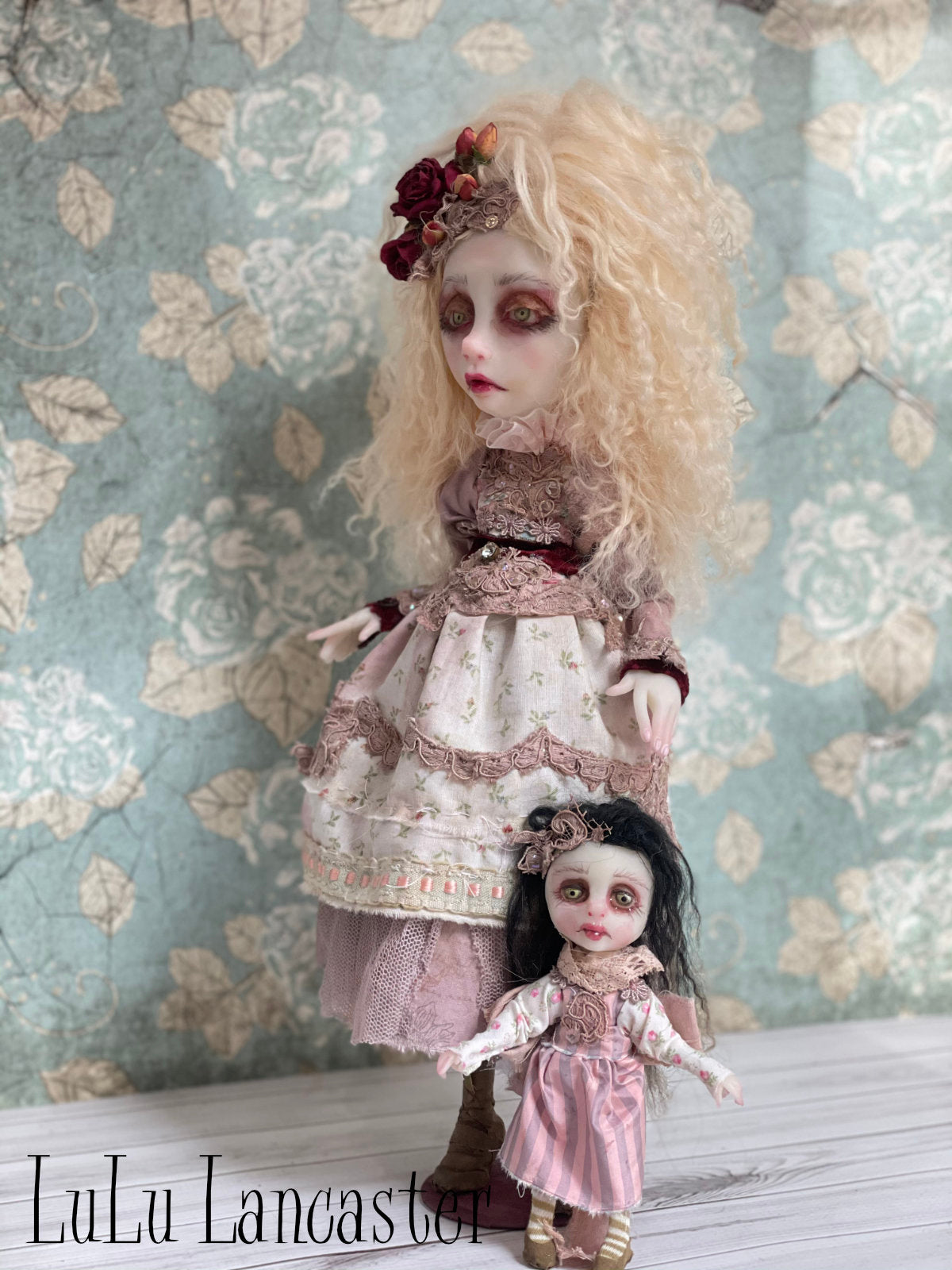 Truly and tiny Topper Victorian Original LuLu Lancaster Art Doll