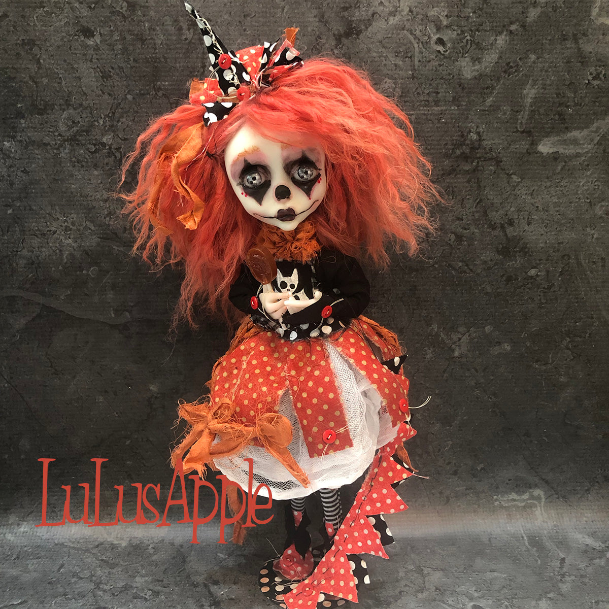 Tuesday PoP Poupee Bat Dark Cirque OOAK Art Doll LuLusApple