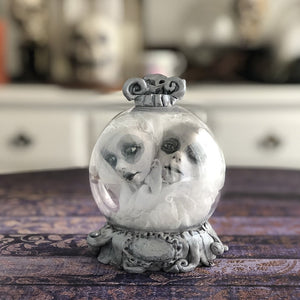 Ghostie Crystal Ball OOAK Halloween Art Doll LuLu Lancaster
