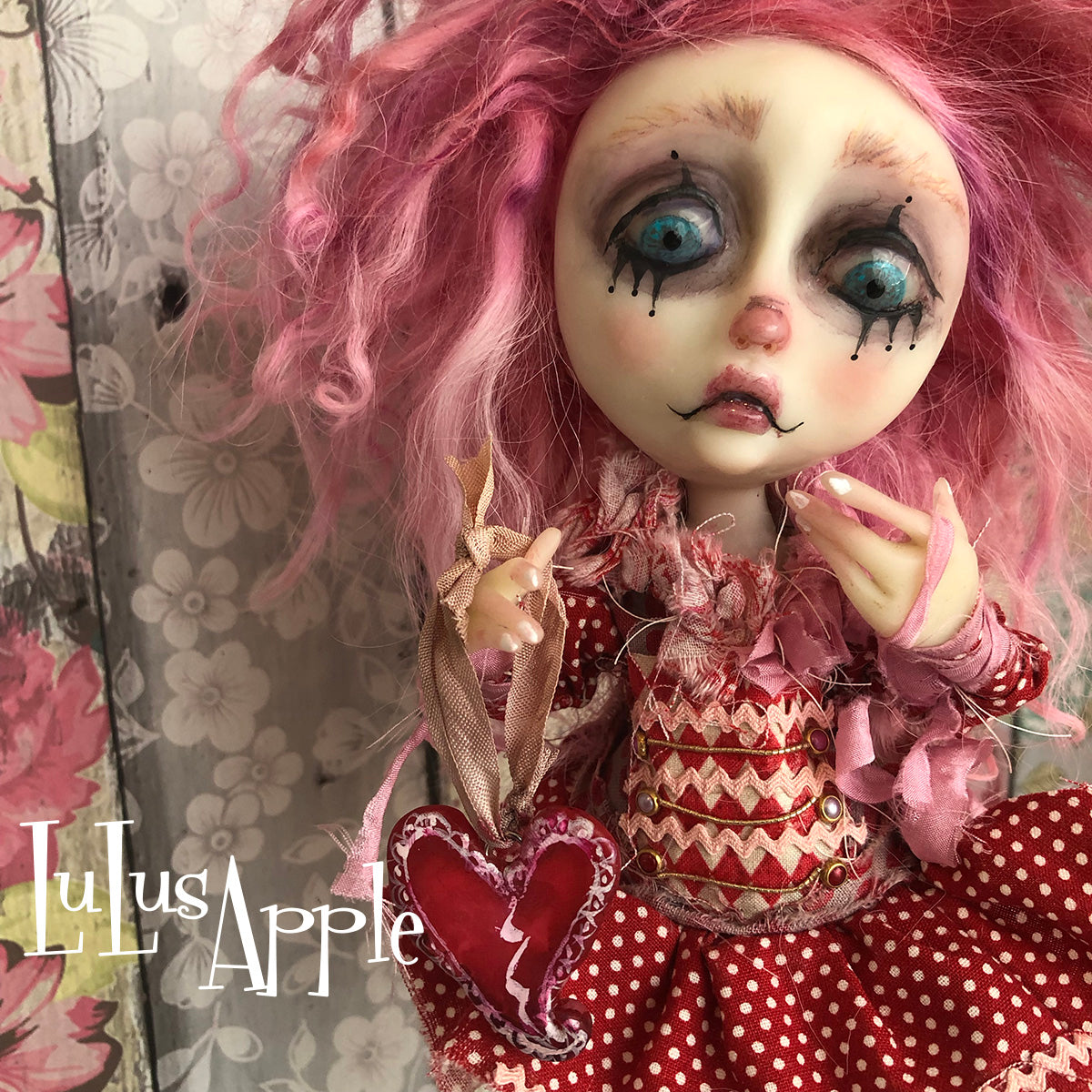 Val Broken Heart LuLusApple Art Doll