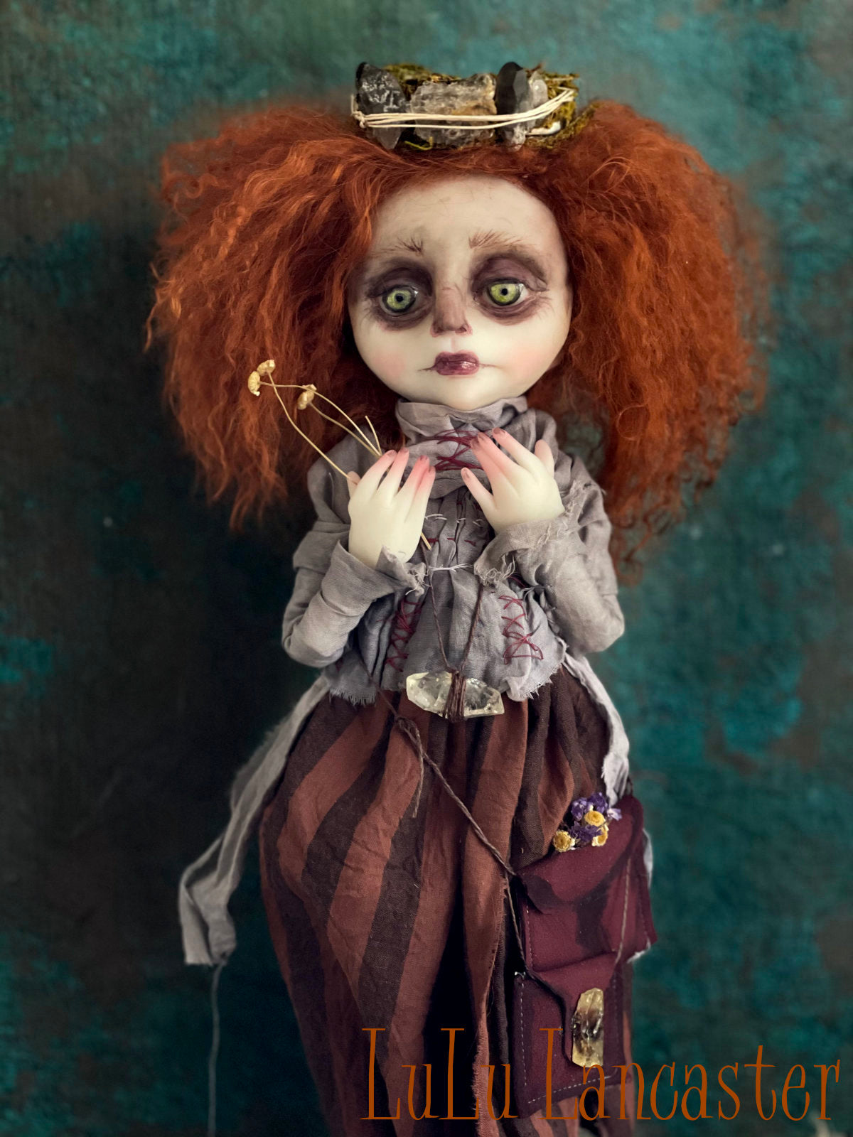 Verlee the Crystal Witch OOAK Art Doll LuLu Lancaster