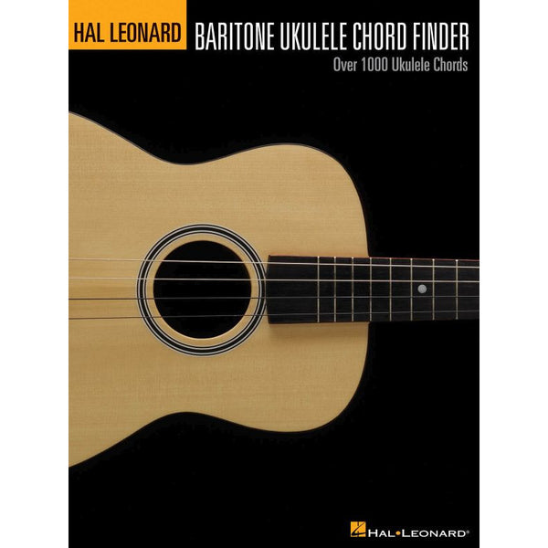 Hal Leonard Baritone Ukulele Chord Finder (English)