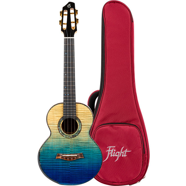 Flight A10 FM Faded Blue 10th Anniversary Tenor Ukulele
