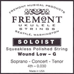 Fremont Ukulele Strings SOLOIST Wound Low G Polished