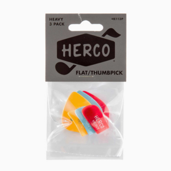 Herco Thumb Pick Set Heavy (HE113P)