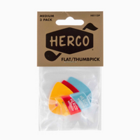 Herco Thumb Pick Set Medium
