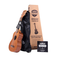 Kala Sopran Ukulele - Learn to Play Starter Kit