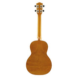 Ohana Solid Cedar / Flamed Mahagony Tenor (TK-50MG) Rückseite
