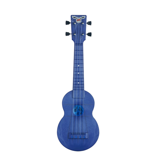 Outdoor Ukulele Soprano Blue Nickel