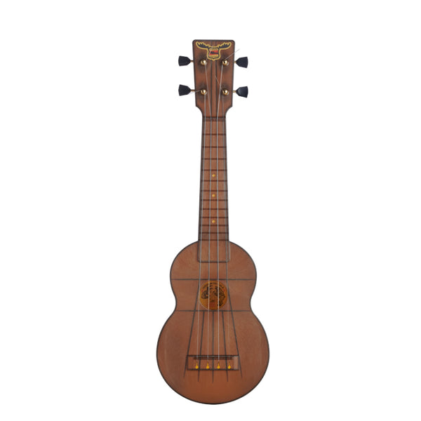 Outdoor Ukulele Soprano Brown Gold