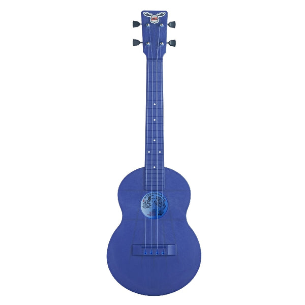 Outdoor Ukulele Tenor Blue Nickel