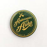 "Retro-Button ""Ambassador of Aloha"""
