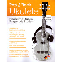 Pop- und Rock Ukulele Fingerstyle Etüden (Deutsch / English)