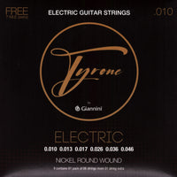 Tyrone by Giannini Electric Guitar Strings .010