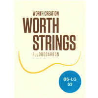 Worth Strings Saiten Fluoro-Carbon Tenor Low-G (BS-LG 63)