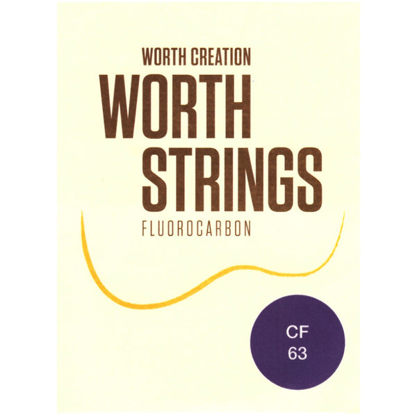 Worth Strings Saiten Fluoro-Carbon Tenor FAT (CF 63)