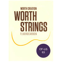 Worth Strings Saiten Fluoro-Carbon Tenor Low-G FAT (CF-LG 63)