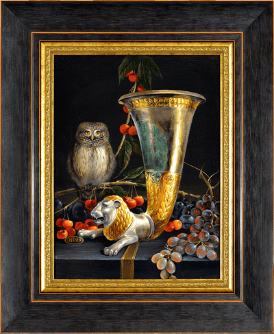 A large Glass, a small Owl - NOBIG.ART