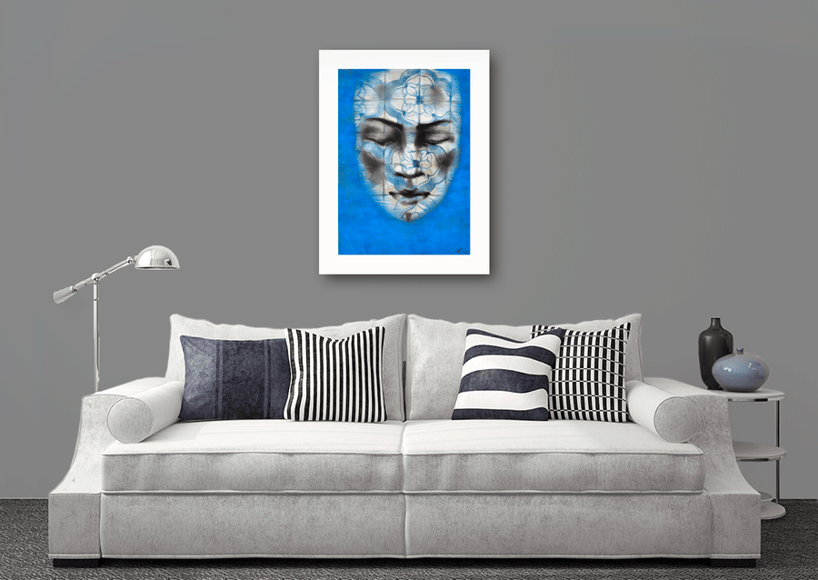 Drawing blue. Serie Portuguesa - NOBIG.ART