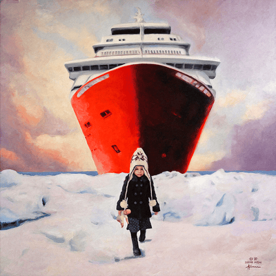 The Red Ship - NOBIG.ART